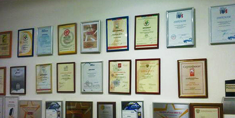 Certificates, awards
