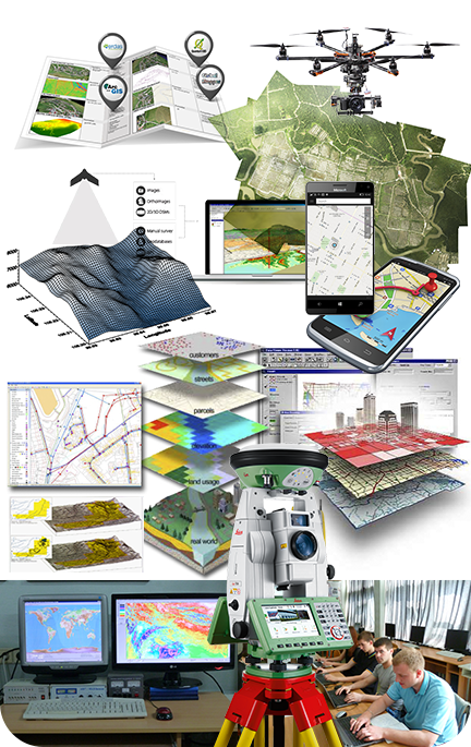 geoinformatics, cartography, GIS, geodesy, navigation systems of Kharkiv